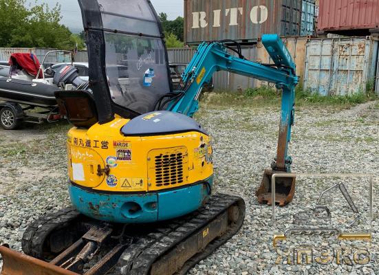 Экскаватор Кубота RX141 без работ по рф  - ЯпЭкс - Реализация Японской спецтехники на российском рынке. Покупка с аукционов Японии под Ваш заказ.