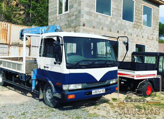 Nissan Diesel Condor 1996. Без пробега по РФ - ЯпЭкс - Реализация Японской спецтехники на российском рынке. Покупка с аукционов Японии под Ваш заказ.