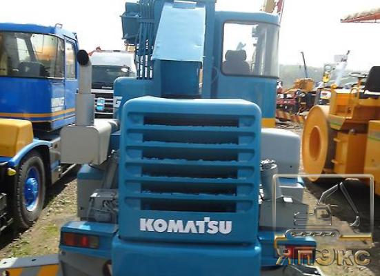 Кран самоходный. Komatsu LW100-1. 10тонн - ЯпЭкс - Реализация Японской спецтехники на российском рынке. Покупка с аукционов Японии под Ваш заказ.