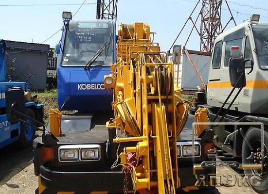 Кран самоходный. Kobelco RK70-2. 7тонн - ЯпЭкс - Реализация Японской спецтехники на российском рынке. Покупка с аукционов Японии под Ваш заказ.