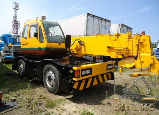 Кран самоходный Tadano TR100, 10тонн желтый - ЯпЭкс - Реализация Японской спецтехники на российском рынке. Покупка с аукционов Японии под Ваш заказ.