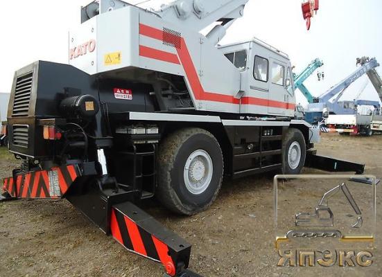 Кран самоходный KATO KR35H-III, 35тонн - ЯпЭкс - Реализация Японской спецтехники на российском рынке. Покупка с аукционов Японии под Ваш заказ.