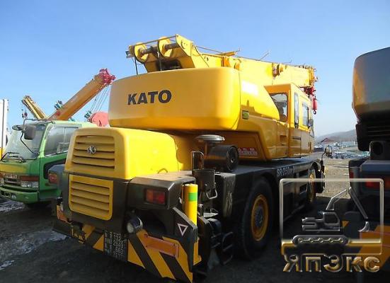 Кран самоходный KATO KR25H-V3. 25тонн - ЯпЭкс - Реализация Японской спецтехники на российском рынке. Покупка с аукционов Японии под Ваш заказ.