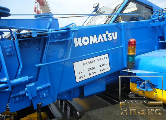 Кран самоходный Komatsu LW100, 10тонн - ЯпЭкс - Реализация Японской спецтехники на российском рынке. Покупка с аукционов Японии под Ваш заказ.