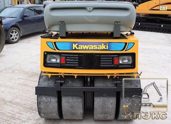Вибро-каток Kawasaki KV3WA 2012г - ЯпЭкс - Реализация Японской спецтехники на российском рынке. Покупка с аукционов Японии под Ваш заказ.