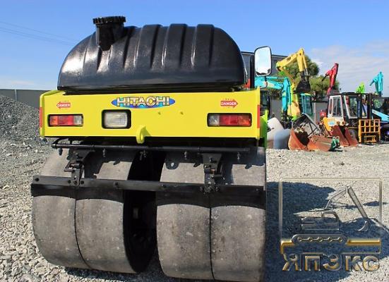 Виброкаток-Колёсный Hitachi CC150CW .2012г, Б. П.3600кг - ЯпЭкс - Реализация Японской спецтехники на российском рынке. Покупка с аукционов Японии под Ваш заказ.