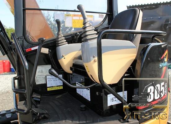 Мини - экскаватор  Katerpillar 305SR - ЯпЭкс - Реализация Японской спецтехники на российском рынке. Покупка с аукционов Японии под Ваш заказ.