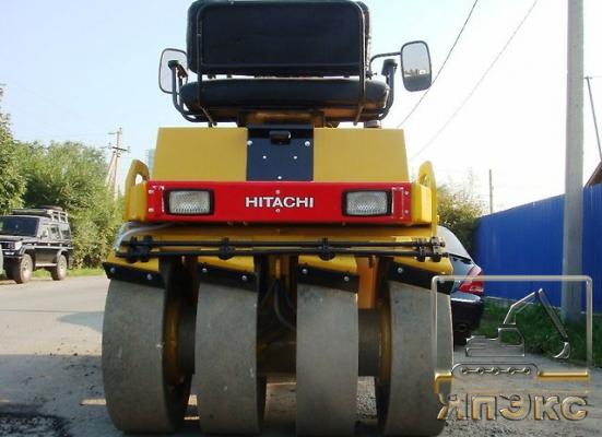 Японский вибрационный каток HITACHI CC142C - ЯпЭкс - Реализация Японской спецтехники на российском рынке. Покупка с аукционов Японии под Ваш заказ.