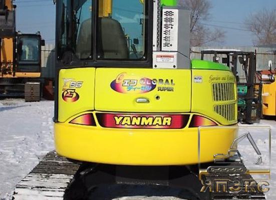 Экскаватор Yanmar B6 2013г - ЯпЭкс - Реализация Японской спецтехники на российском рынке. Покупка с аукционов Японии под Ваш заказ.