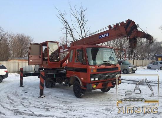 Продам автокран Nissan Diesel 1993 года  - ЯпЭкс - Реализация Японской спецтехники на российском рынке. Покупка с аукционов Японии под Ваш заказ.