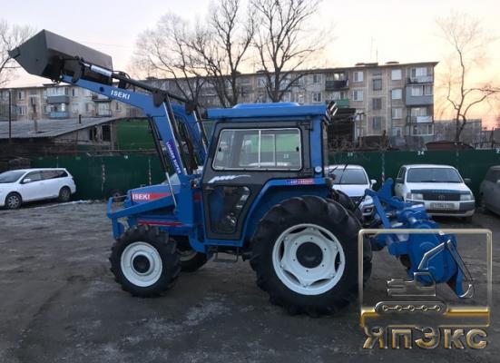 Трактор Iseki TA55 - ЯпЭкс - Реализация Японской спецтехники на российском рынке. Покупка с аукционов Японии под Ваш заказ.