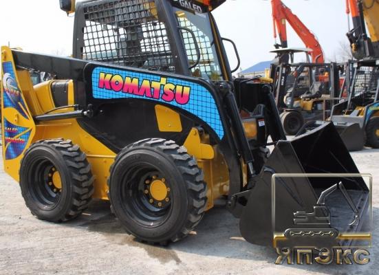 Погрузчик Komatsu SK815 фронтальный - ЯпЭкс - Реализация Японской спецтехники на российском рынке. Покупка с аукционов Японии под Ваш заказ.