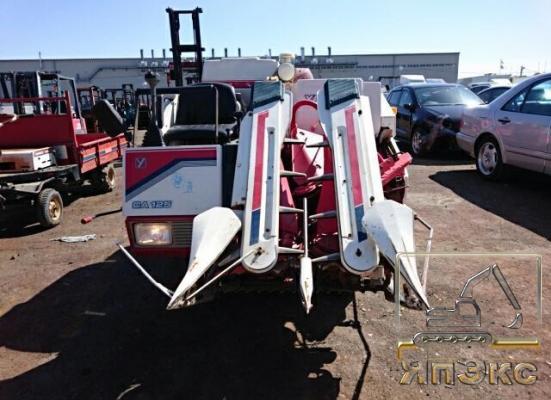 Комбайн Yanmar CA125 зерноуборочный  - ЯпЭкс - Реализация Японской спецтехники на российском рынке. Покупка с аукционов Японии под Ваш заказ.