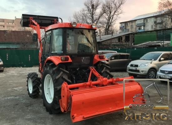 Трактор Kubota D500 - ЯпЭкс - Реализация Японской спецтехники на российском рынке. Покупка с аукционов Японии под Ваш заказ.