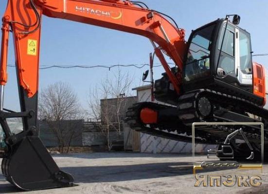 Экскаватор Hitachi ZX135US 2015г - ЯпЭкс - Реализация Японской спецтехники на российском рынке. Покупка с аукционов Японии под Ваш заказ.