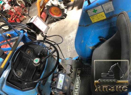 Трактор Мицубиси 33лс с куном 4 ВД - ЯпЭкс - Реализация Японской спецтехники на российском рынке. Покупка с аукционов Японии под Ваш заказ.