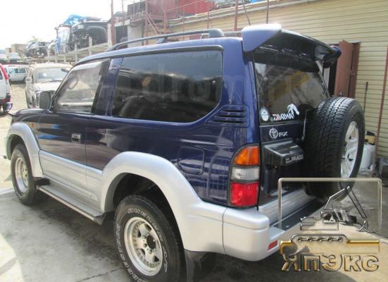 Toyota Land Cruiser Prado синий - ЯпЭкс - Реализация Японской спецтехники на российском рынке. Покупка с аукционов Японии под Ваш заказ.