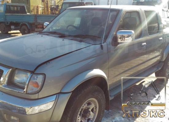 Nissan Datsun серебристый - ЯпЭкс - Реализация Японской спецтехники на российском рынке. Покупка с аукционов Японии под Ваш заказ.
