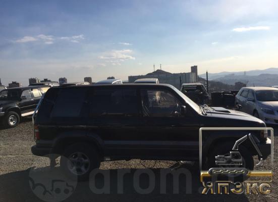 Isuzu Bighorn черный - ЯпЭкс - Реализация Японской спецтехники на российском рынке. Покупка с аукционов Японии под Ваш заказ.