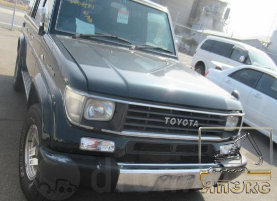 Toyota Land Cruiser Prado темно зеленый - ЯпЭкс - Реализация Японской спецтехники на российском рынке. Покупка с аукционов Японии под Ваш заказ.