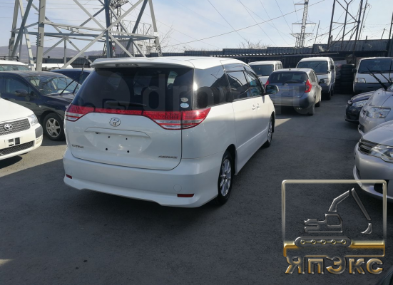 Toyota Estima белая - ЯпЭкс - Реализация Японской спецтехники на российском рынке. Покупка с аукционов Японии под Ваш заказ.
