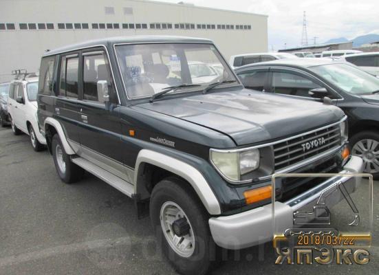Toyota Land Cruiser Prado темно-зеленый - ЯпЭкс - Реализация Японской спецтехники на российском рынке. Покупка с аукционов Японии под Ваш заказ.