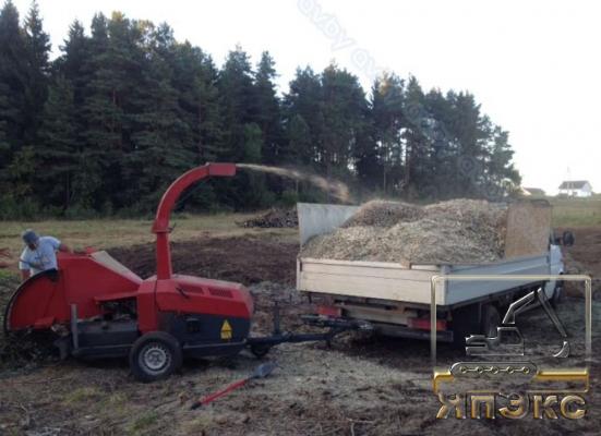 Дробилка древесины NICOLAS C1138E - ЯпЭкс - Реализация Японской спецтехники на российском рынке. Покупка с аукционов Японии под Ваш заказ.