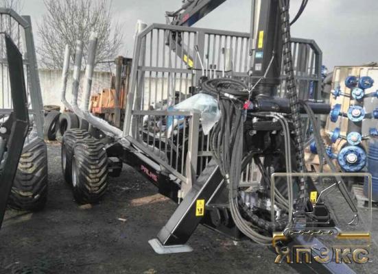 Трелевочный трактор прицеп лесовозный palms - ЯпЭкс - Реализация Японской спецтехники на российском рынке. Покупка с аукционов Японии под Ваш заказ.