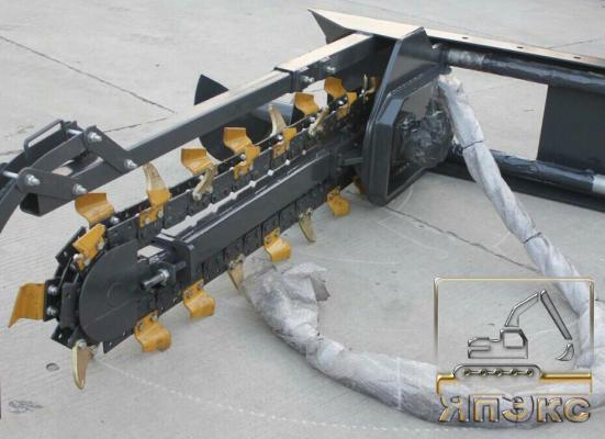 Траншеекопатель для мини-техники - ЯпЭкс - Реализация Японской спецтехники на российском рынке. Покупка с аукционов Японии под Ваш заказ.