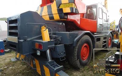 Кран  Kobelco RK350, 35тонн - ЯпЭкс - Реализация Японской спецтехники на российском рынке. Покупка с аукционов Японии под Ваш заказ.