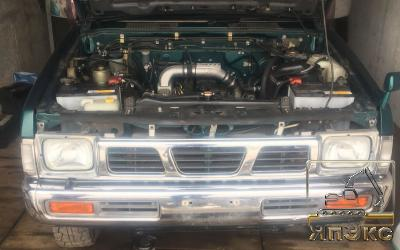 Nissan Datsun зеленый - ЯпЭкс - Реализация Японской спецтехники на российском рынке. Покупка с аукционов Японии под Ваш заказ.