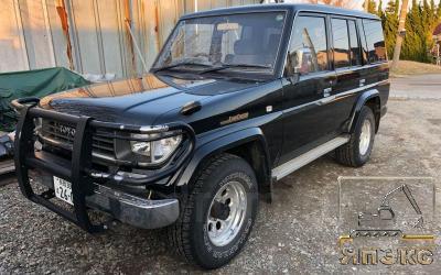 Toyota Land Cruiser Prado черный - ЯпЭкс - Реализация Японской спецтехники на российском рынке. Покупка с аукционов Японии под Ваш заказ.